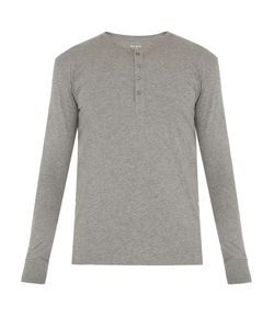 Paul Smith | Cotton-Jersey Henley Pyjama Top