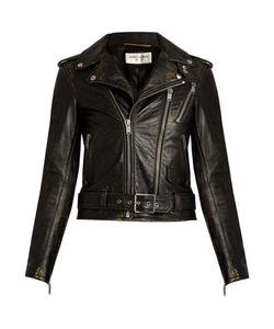 Saint Laurent | L171 Distressed-Leather Jacket