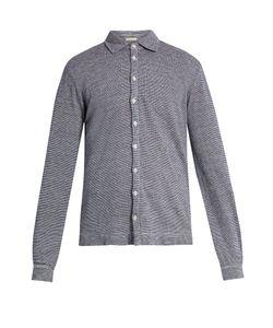 Massimo Alba | Crocket Point-Collar Linen Shirt