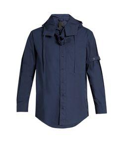 Craig Green | Belted Long-Sleeved Cotton-Poplin Shirt