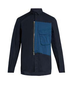 Oamc | Overdyed Short-Sleeved Cotton Shirt