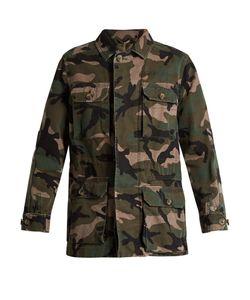 Valentino | Camouflage-Print Cotton Jacket
