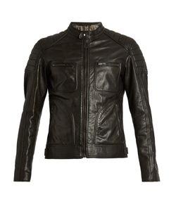 Belstaff | Weybridge Waxed-Leather Biker Jacket