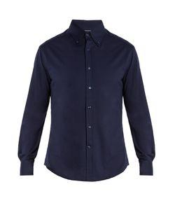 Brunello Cucinelli | Slim-Fit Brushed-Cotton Shirt