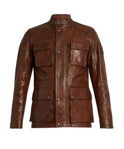 Belstaff | Trailmaster Waxed-Leather Biker Jacket