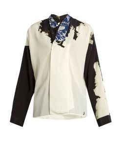 Haider Ackermann | Digoxine Abstract Silk Blouse