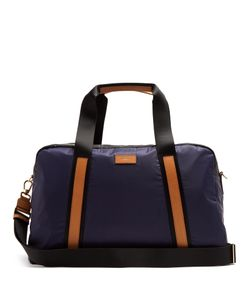 Paul Smith | Tri-Colour Leather-Trimmed Nylon Holdall