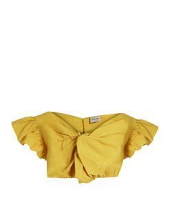 Rachel Comey | Crush Cotton-Poplin Cropped Top