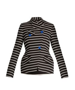 Proenza Schouler | Double-Breasted Striped Blazer