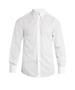 Brunello Cucinelli | Single-Cuff Cotton-Poplin Shirt