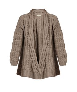 QUEENE AND BELLE | Lou Lou Cable-Knit Wool Cardigan