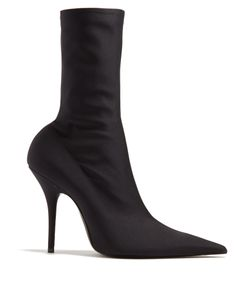 Balenciaga | Knife Point-Toe Ankle Boots