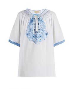 Muzungu Sisters | Eva Embroide Cotton Top