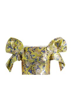 Delpozo | Off-The-Shoulder Cropped Top