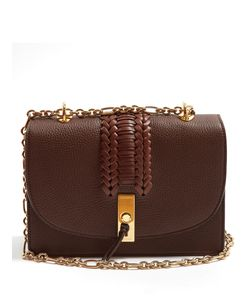 Altuzarra | Ghianda Braided Pebbled-Leather Shoulder Bag