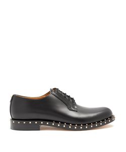 Valentino | Micro Rockstud Leather Derby Shoes