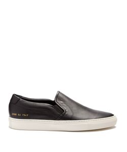 Common Projects | Retro Leather Slip-On Trainers