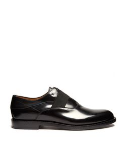 Fendi | Elasticated Front Leather Derby Shoes