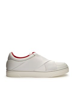 Proenza Schouler | Crossover-Strap Leather Low-Top Trainers