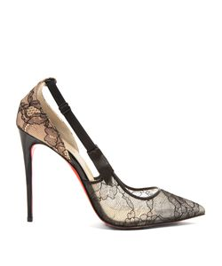 CHRISTIAN LOUBOUTIN | Hot Jeanbi 100mm Lace Pumps