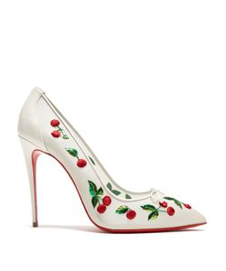 CHRISTIAN LOUBOUTIN | Cherry 100mm Embellished Pumps