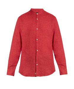 Ermenegildo Zegna | Stand-Collar Linen Shirt