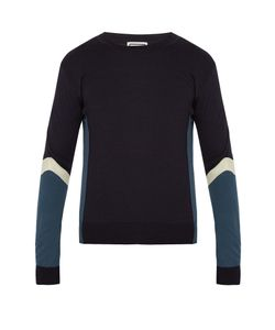 Wooyoungmi | Contrast-Panel Wool Sweater