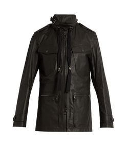Lanvin | Hooded Leather Jacket