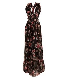 MSGM | Silk-Chiffon Long Dress