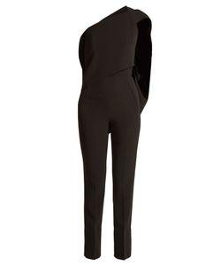 Roland Mouret | Carlton Asymmetric Slim-Leg Cady Jumpsuit