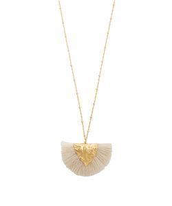 ELISE TSIKIS | Agia Craie Tassel-Pendant Plated Necklace