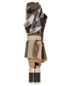 Burberry | Trafalgar Checked Folding Umbrella