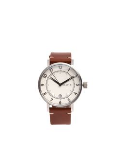 BRAVUR | Bw001 Stainless-Steel And Leather Watch