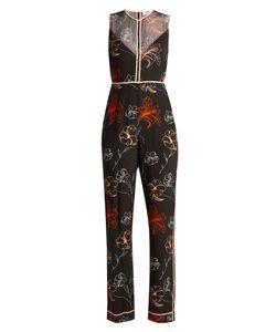 Diane von Furstenberg | Fenelon-Print Silk Jumpsuit