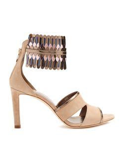 Jimmy Choo | Klara 85mm Suede Sandals