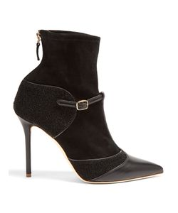 Malone Souliers | Sadie Leather And Suede Sock Ankle Boots