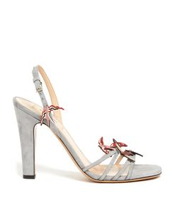 Valentino | Garden Of Delight Suede Sandals