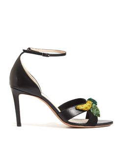 Altuzarra | Bisbee Fruit-Embellished Leather Sandals