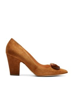 Rupert Sanderson | Pierrot Point-Toe Suede Pumps