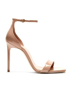 Saint Laurent | Amber Patent-Leather Sandals