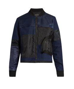 Longjourney | Patchwork Cotton Bomber Jacket