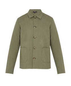 A.P.C. | Kerlouan Cotton And Linen-Blend Field Jacket