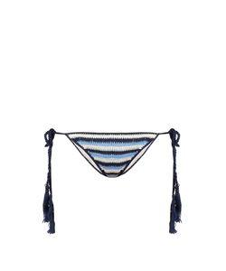 Anna Kosturova | Striped Crochet Bikini Briefs