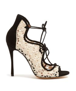 Tabitha Simmons | Cali Lace And Suede Sandals