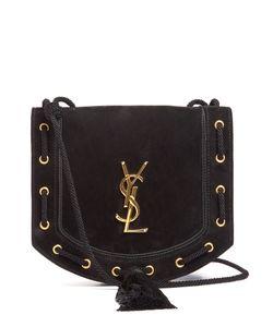 Saint Laurent | Monogram Medium Suede Cross-Body Bag