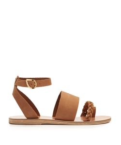 Ancient Greek Sandals | Agni Plaited-Leather Sandals