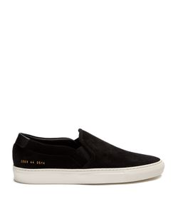 Common Projects | Retro Suede Slip-On Trainers