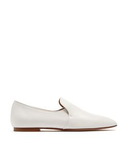 The Row | Alys Leather Loafers