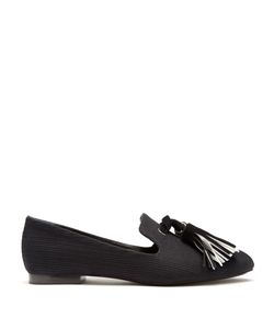 Proenza Schouler | Tasselled Woven-Canvas Loafers