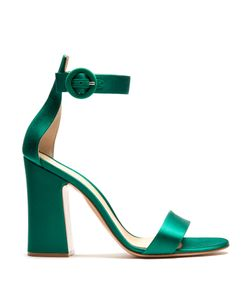 Gianvito Rossi | Tandi Block-Heel Satin Sandals